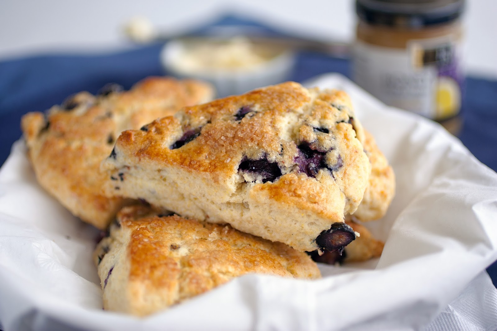 Tish Boyle Sweet Dreams: Blueberry Cornmeal Scones from ...