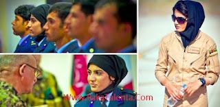 Inilah Niloofar Rhmani, Pilot Tercantik Pertama Afghanistan