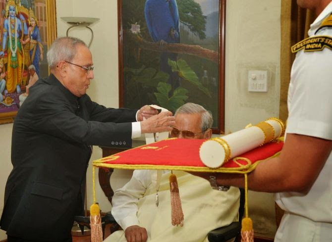 Bharat Ratna for Atal Bihari Vajpayee