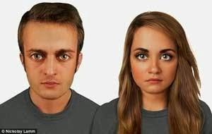 Wajah manusia 60000 Mendatang
