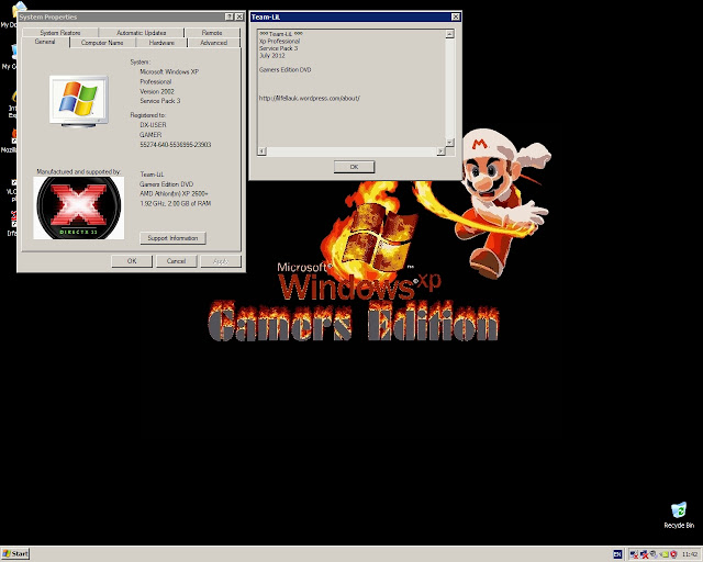 Deadheart Blog S Zone Win Xp Pro Sp3 Gamers Edition 2012