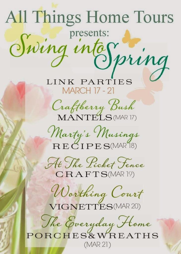 http://www.craftberrybush.com/2014/03/swing-into-spring-spring-mantel-linky.html