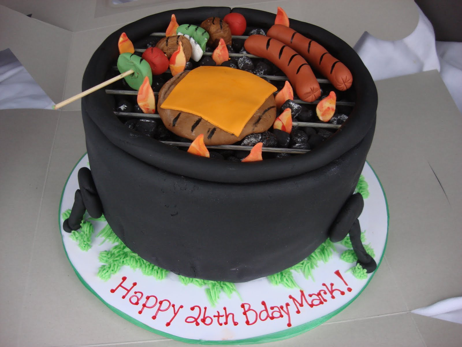 The Lovely Layers Grill Cake