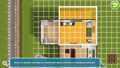 the sims freeplay modo construção