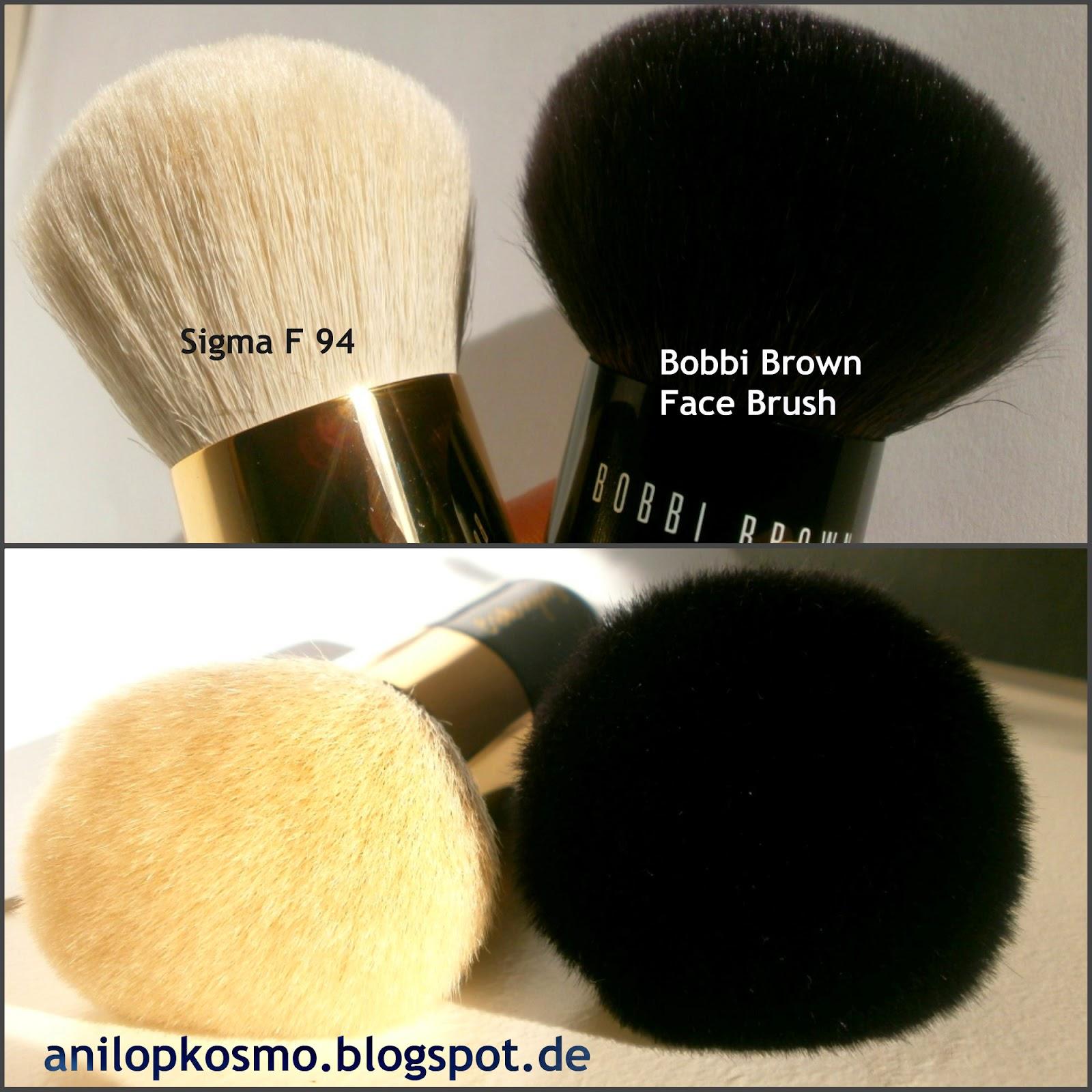 Sigma Extravaganza Kabuki F94 , кабуки Бобби Браун отзыв, сравнение