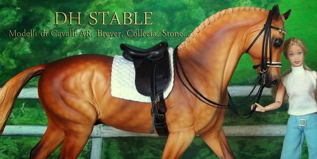 DH STABLE - MODELLI DI CAVALLI BREYER, COLLECTA, STONE, MODELLINI SCHLEICH - MODEL HORSE