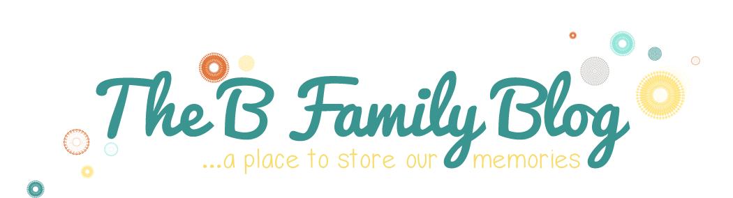 The B Family Blog