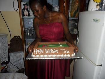 BIRTHDAY YA TINA BABALA ILIKUWA TAREHE 22/12/2010