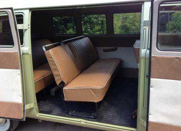 1959 Vw Bus Mango Green Vw Bus