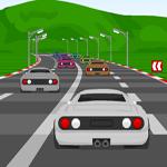 العاب سباق سيارات على الطريق السريع