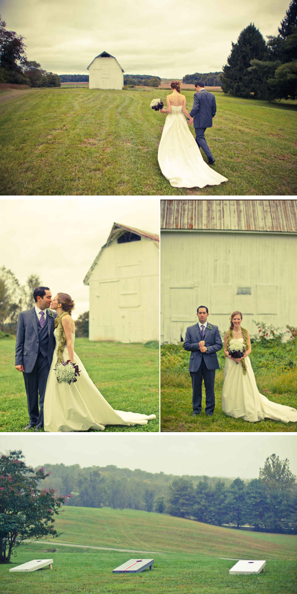 autumn maryland wedding with fall details | photos by Kate Haus