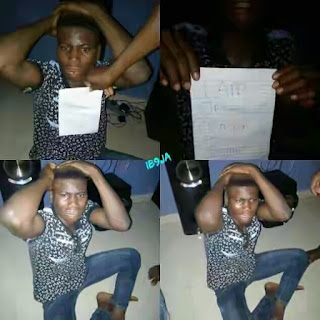 Young Man Caught With A Stolen Gucci Shirt | See The Reason Why He Did It