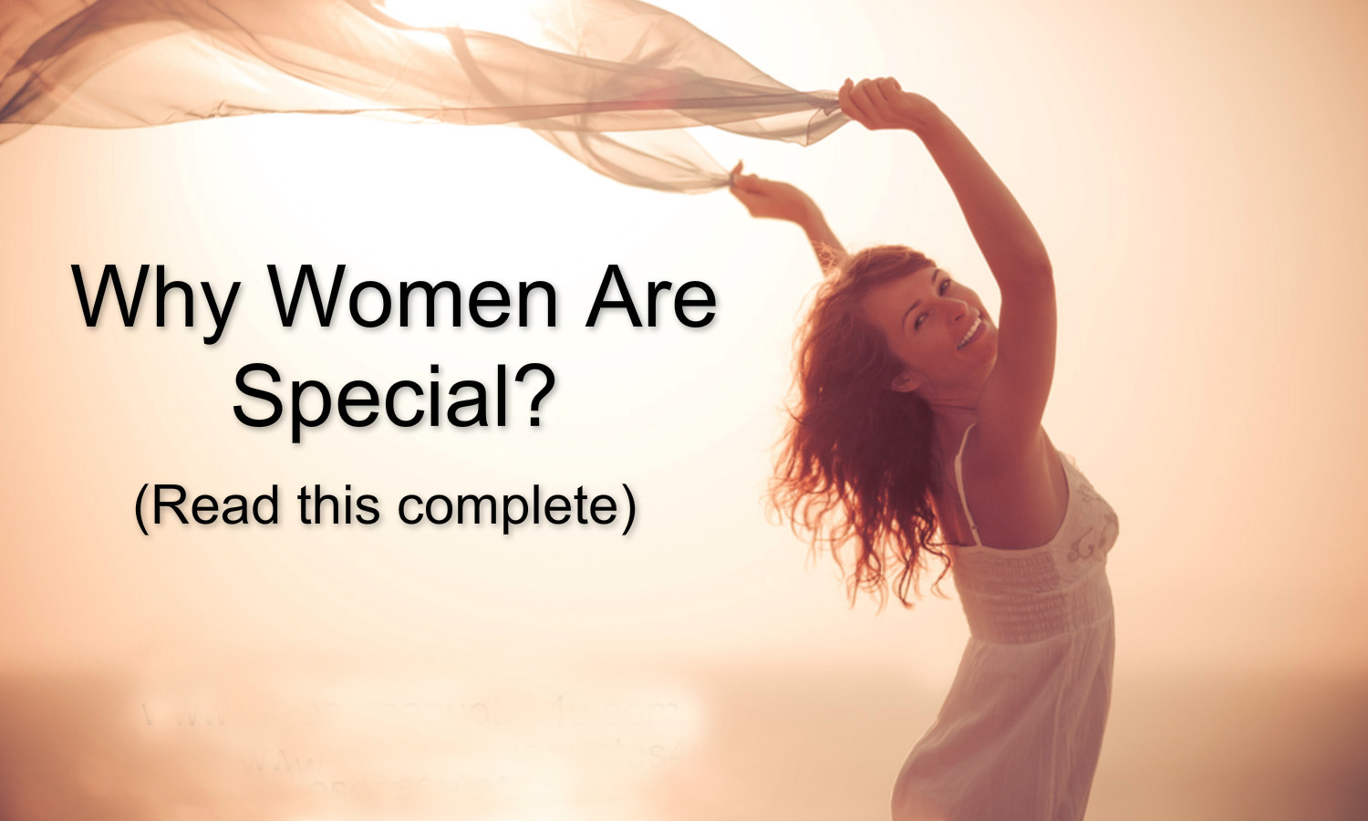 women are special