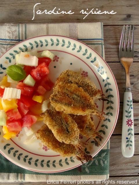 Rciette per dieta: Sardine ripiene