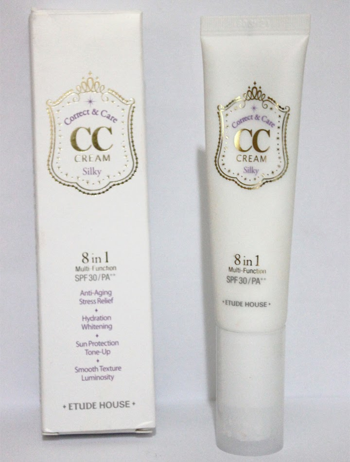 Cc cream 8 in 1 etude house