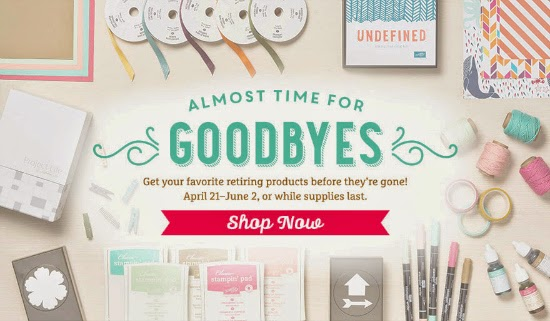 Shop now for retiring Stampin' Up! products before they are gone