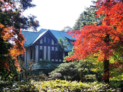旧華頂宮邸の紅葉