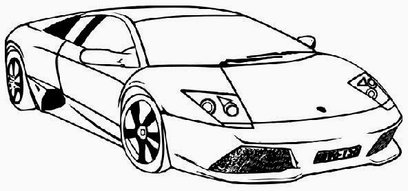Lamborghini Cars Coloring Pages To Print (6 Image ...
