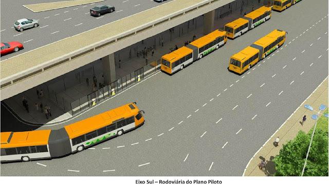 Projeto terminal VLP na Rodoviária do Plano Piloto