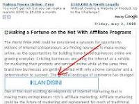 2 Tips Memasang Iklan Ads Adsense Di Tengah Postingan Dengan Mudah