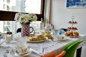 Tea with Laura Ashley