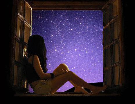 Resultado de imagen para ventana y estrellas