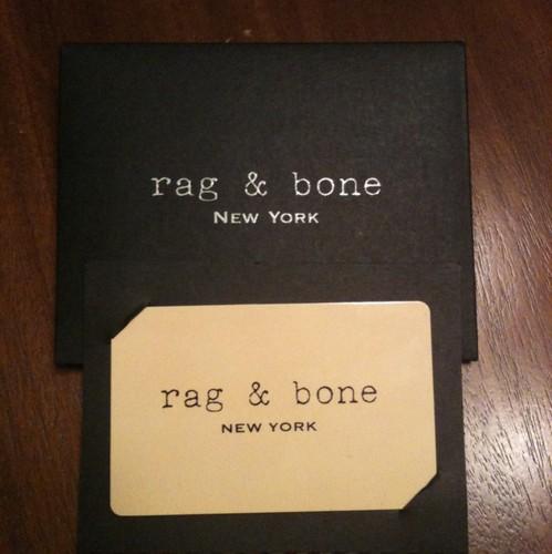 Laws of general economy 395 rag bone gift card for Rag bone promo code