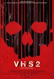 VHS 2 Horror Movie Poster 2013