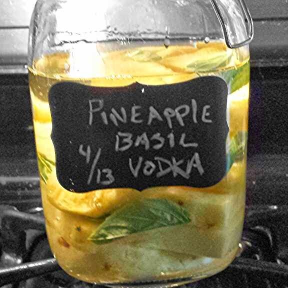 infused vodka, recipe, drinks, pineapple