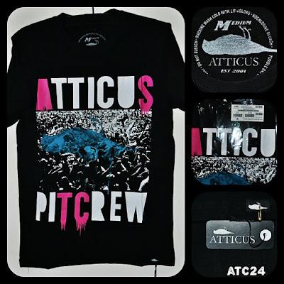 Kaos Surfing ATTICUS Kode ATC24