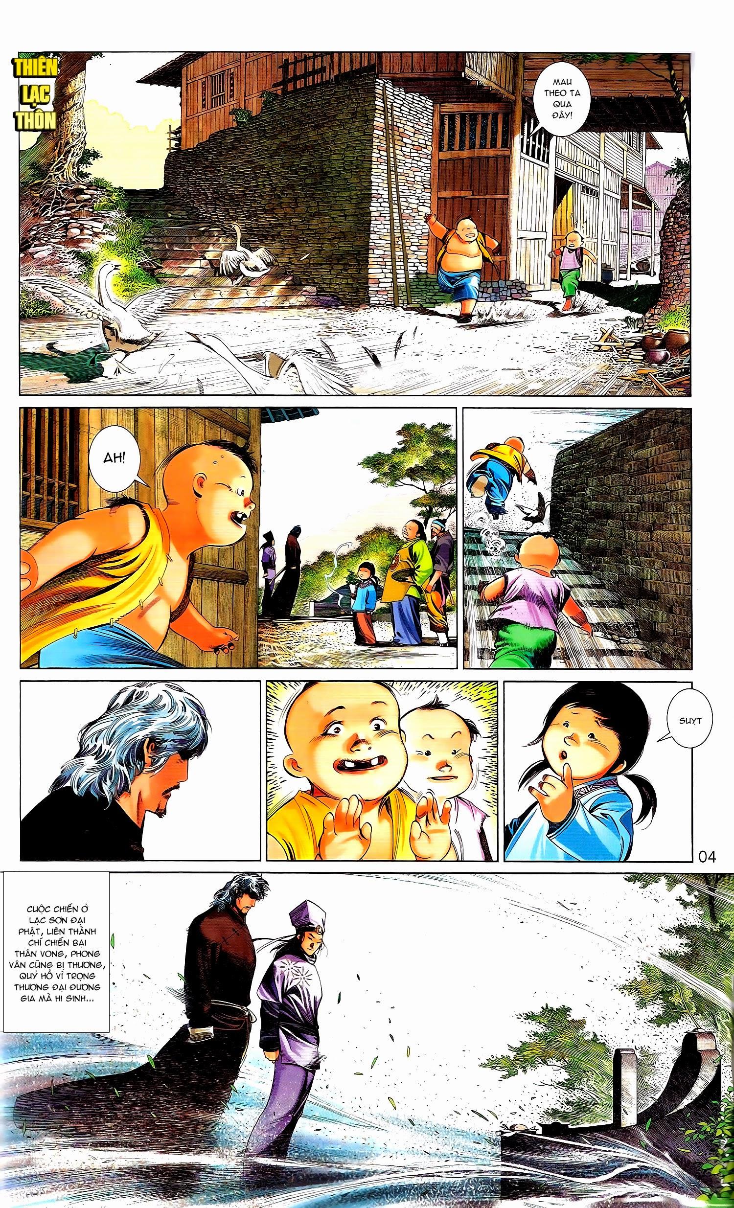 Phong Vân chap 671A Trang 4 - Mangak.info