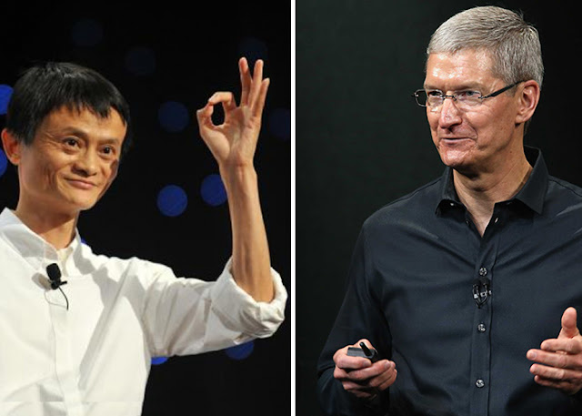 Apple e Alibaba podem salvar a economia da China