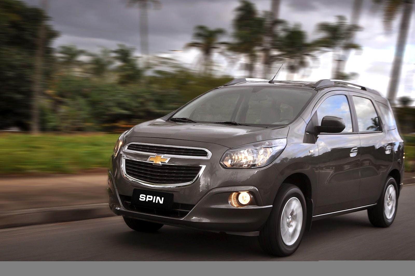 Hoy se presentó el Chevrolet Spin en Brasil, puedes ver la nota acá
