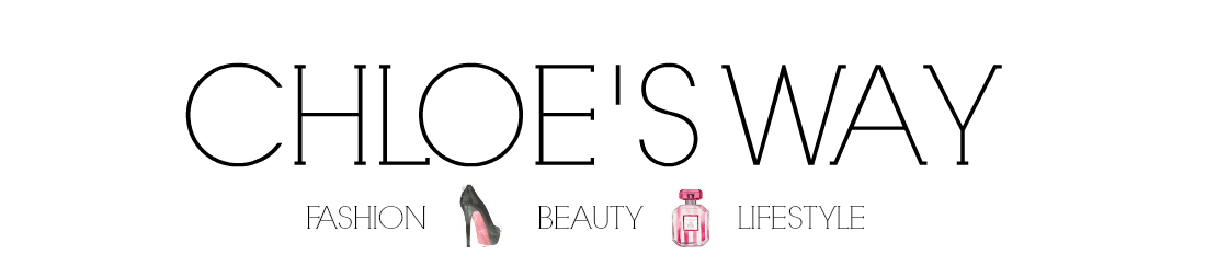 Chloe's Way: UK Fashion/ Beauty/ Lifestyle Blog