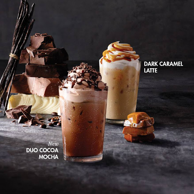 Indulge in Rich Flavors of Duo Cocoa and Dark Caramel from Starbucks