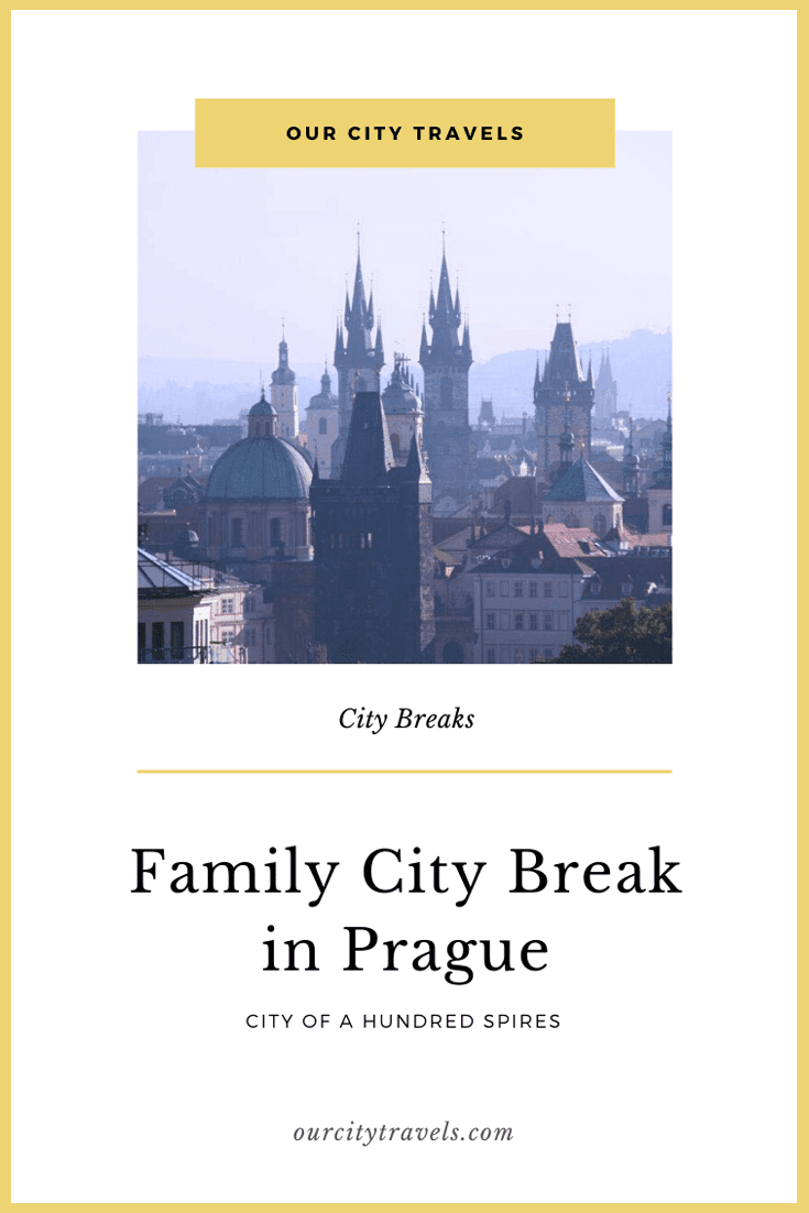 Family City Break in Prague - the City of a Hundred Spires is a treasure trove of many historical significance.