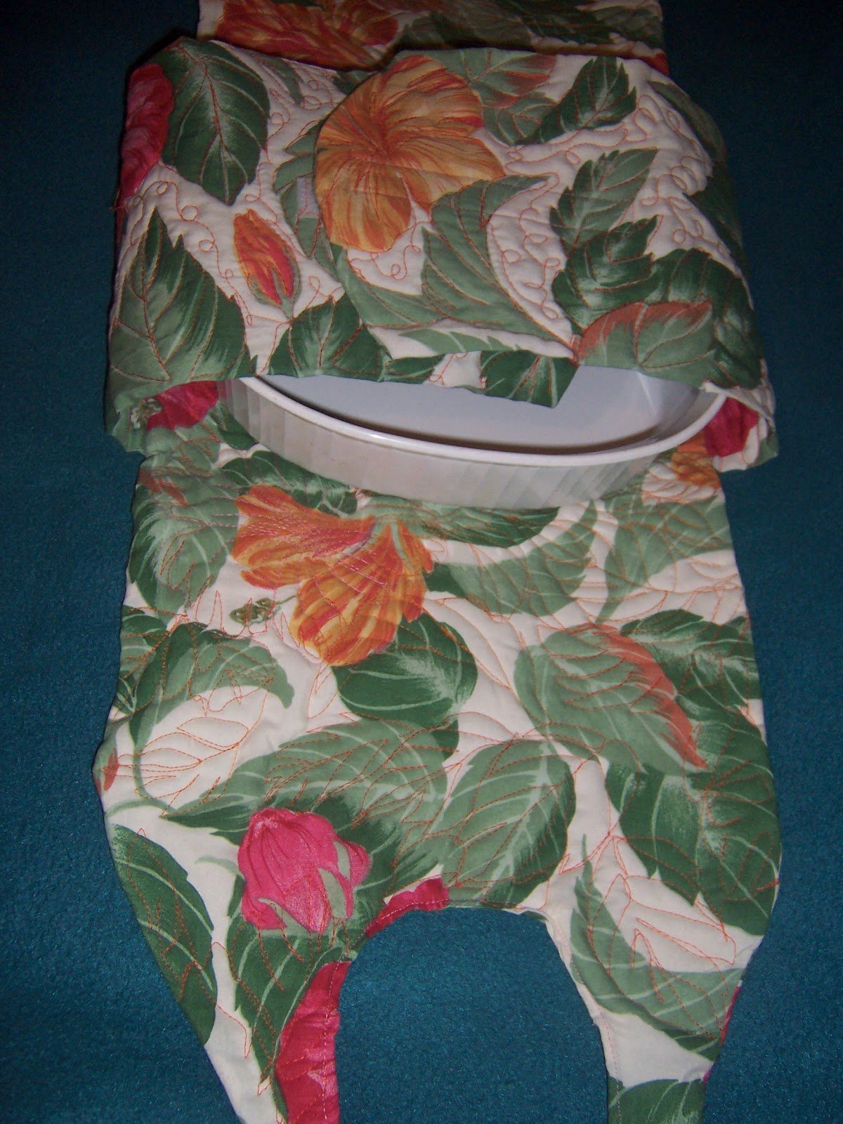 Quilts and Art by Cheryl Hot Casserole Carrier