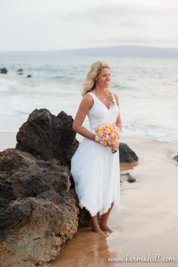 a maui beach wedding dani zack 39 s wedding preview by
