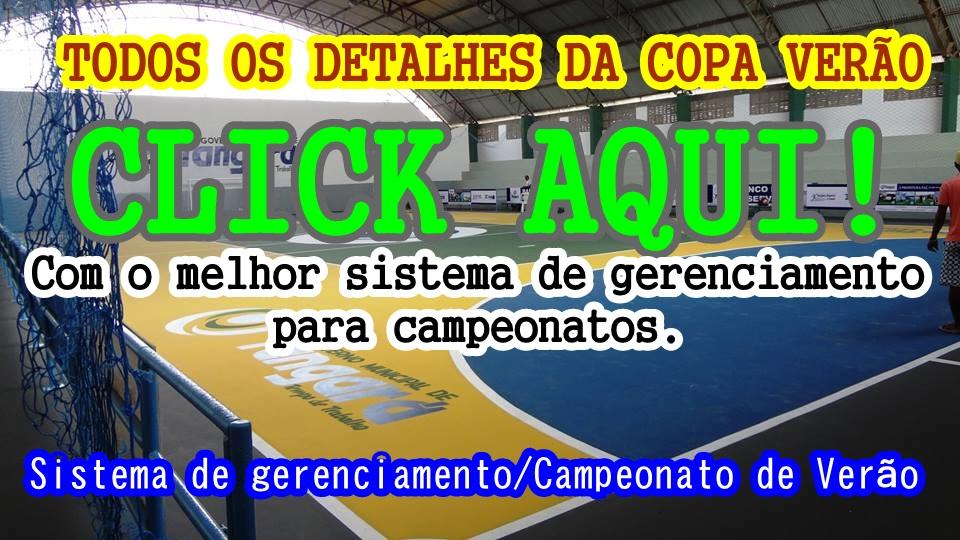 XXXIII COPA VERÃO DE FUTSAL 2016