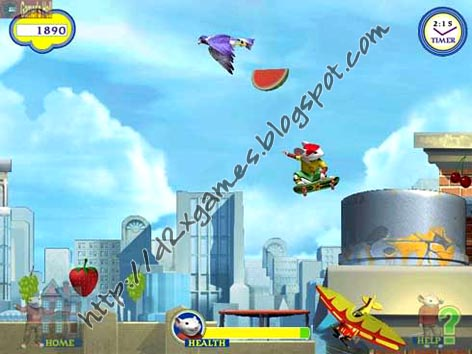Free Download Games - Stuart Little 2