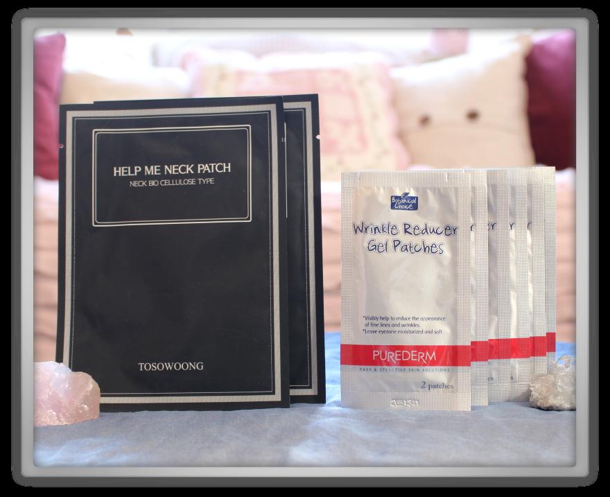 겟잇뷰티박스 by 미미박스 memebox beautybox Special #38 My Mask Box unboxing review tosowoong neck patch purederm wrinkle gel pathes treatment