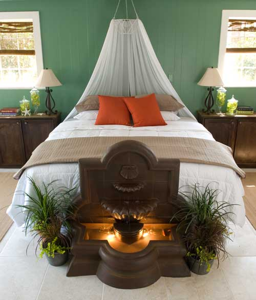Renovate redesign restore diy bed canopies for Hanging canopy over bed