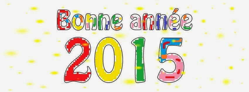 Bonne ann��e 2015 ~ Photo et image couverture facebook