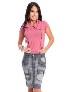 Saias Jeans para Evangélicas