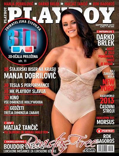 Playboy Slovenia - Manja Dobrilovic - Setembro 2013