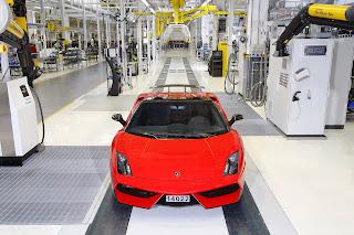 Lamborghini Gallardo LP570-4 Spyder Performante Rosso Mars