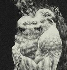 """""""Allegorie"""" - Ausschnitt einer Schablithografie, 2011"""