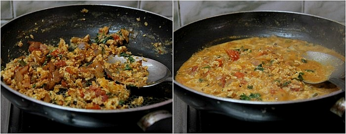 Egg Curry | Scrambled Egg Curry Using Coconut Milk | Scrambled Egg ...
