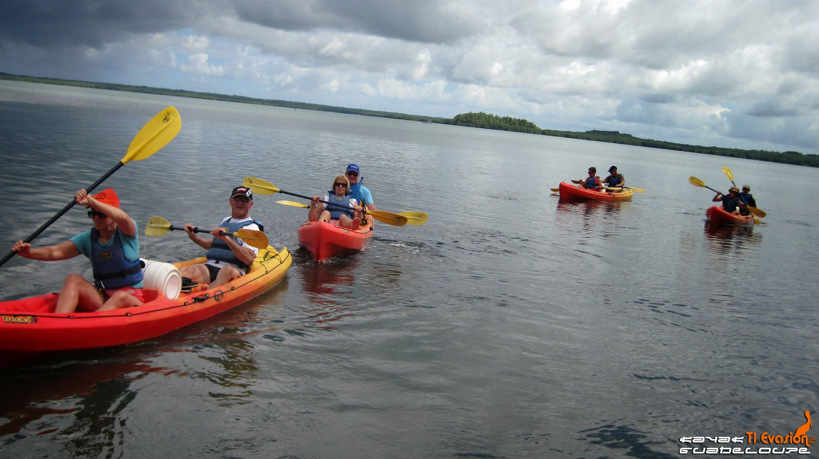 Guadeloupe kayak
