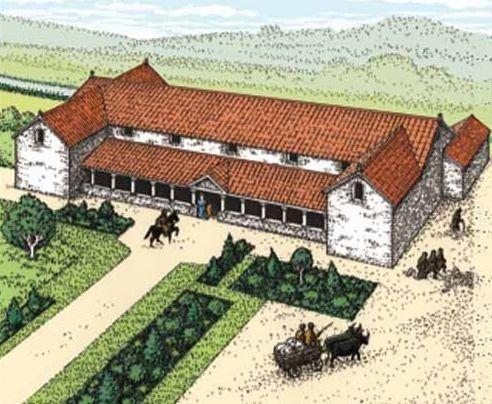 Features Of A Roman Villa